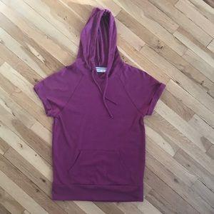 Old navy shirt sleeve shirt with hood